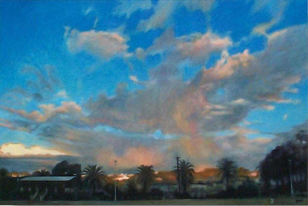 'Johnson Park' (2004) oil on cotton 101.5 x 152 cm