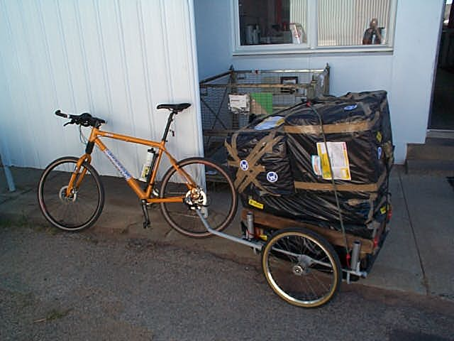 Coolgardie safes flatpacked for transport